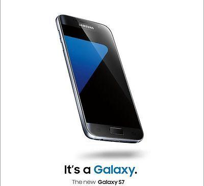 Samsung Galaxy S7 SM-G930 - 32GB - Black Onyx (AT&T) + UNLOCKED