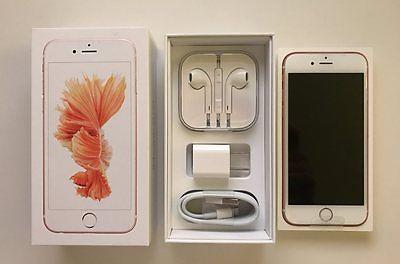 Apple iPhone 6s - 64GB - Rose Gold (Unlocked) iOS 9.0.2