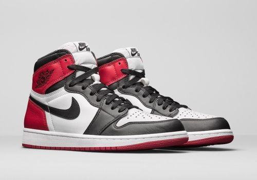 huge discount 271b7 b68c0 ... Nike Air Jordan 1 Retro High Black Toe EU45 US11 UK10 ...