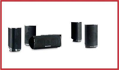 Harman Kardon HKTS 15-Z 5.1 Home Theater Speaker System - Subwoofer NOT INCLUDED