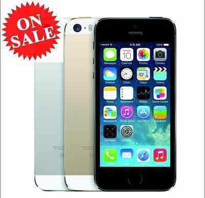 "Original Apple iPhone 5S A1533 16GB ""Factory Unlocked"" Smartphone Gold US Plug"
