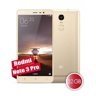 Xiaomi RedMi Note 3 Gold 3 GB Ram / 32 GB Rom - EU Stock - Next Day Shipping