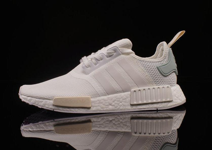 e90f9e635 Adidas NMD R1 W size 9. White Tactile Green BY3033. ultra boost xr1 ...