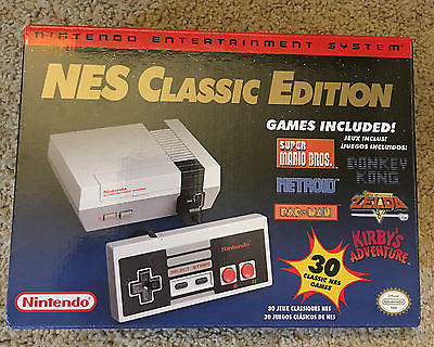 Nintendo Entertainment System Latest Model Nes Classic Edition