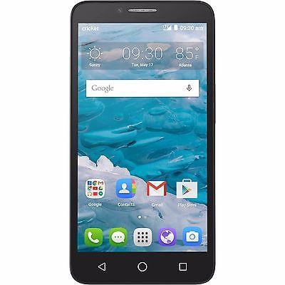 "New Alcatel OneTouch Flint 5054O Cricket 4G LTE GSM 5.5"" HD Android 5.1"
