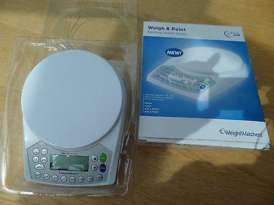 Boxed WEIGHT WATCHERS Kitchen Diet WEIGH & POINT Old POINTS Scales TIME TO EAT