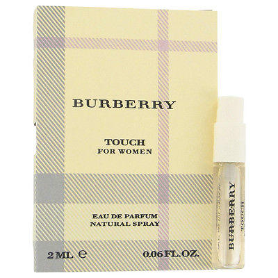 BURBERRY TOUCH by BURBERRY ~ Women's Vial (sample) .06 oz