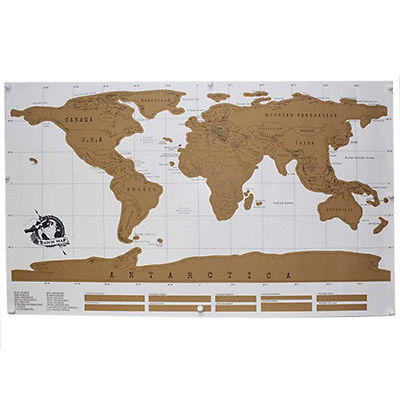 Map scratch world travel off poster personalized deluxe edition log map scratch world travel off poster personalized deluxe edition log journal gumiabroncs Gallery