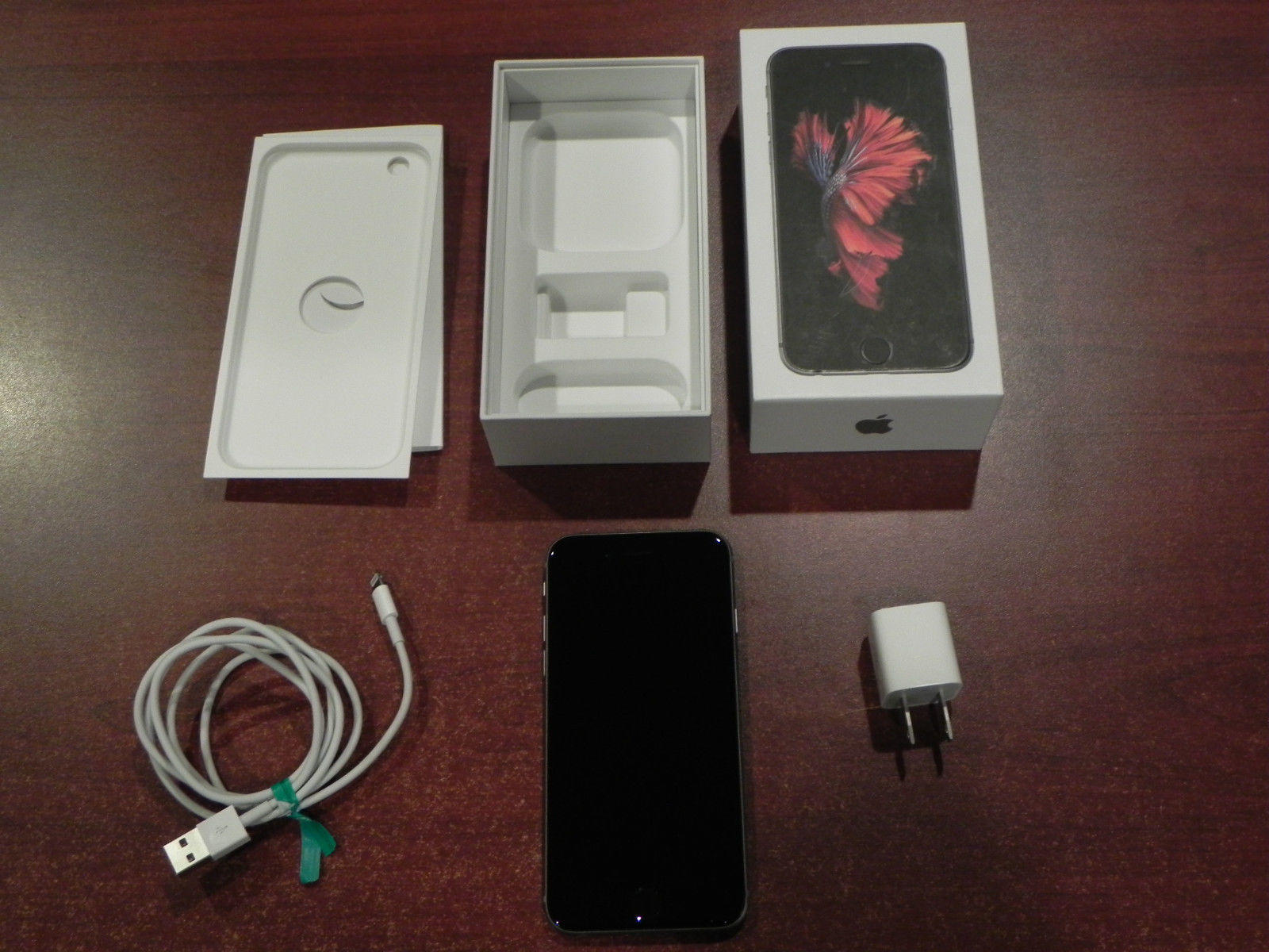 Near MINT Apple iPhone 6s - 16GB - Space Gray (Verizon) (Unlocked) (MKRR2LL/A)