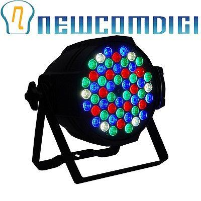 Eyourlife PAR Effect Light 4 Color 54X3W LED RGBW DMX DJ Party Stage Lights