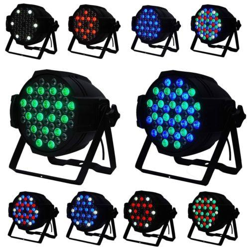 Eyourlife 4PCS 54X3W LED RGBW DMX512 PAR64 Light DJ Party Stage Effect Lamp 162W