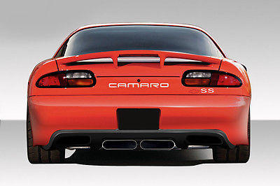 Duraflex Zr Edition Rear Bumper Body Kit 1 Pc For Camaro Chevrolet 93-02