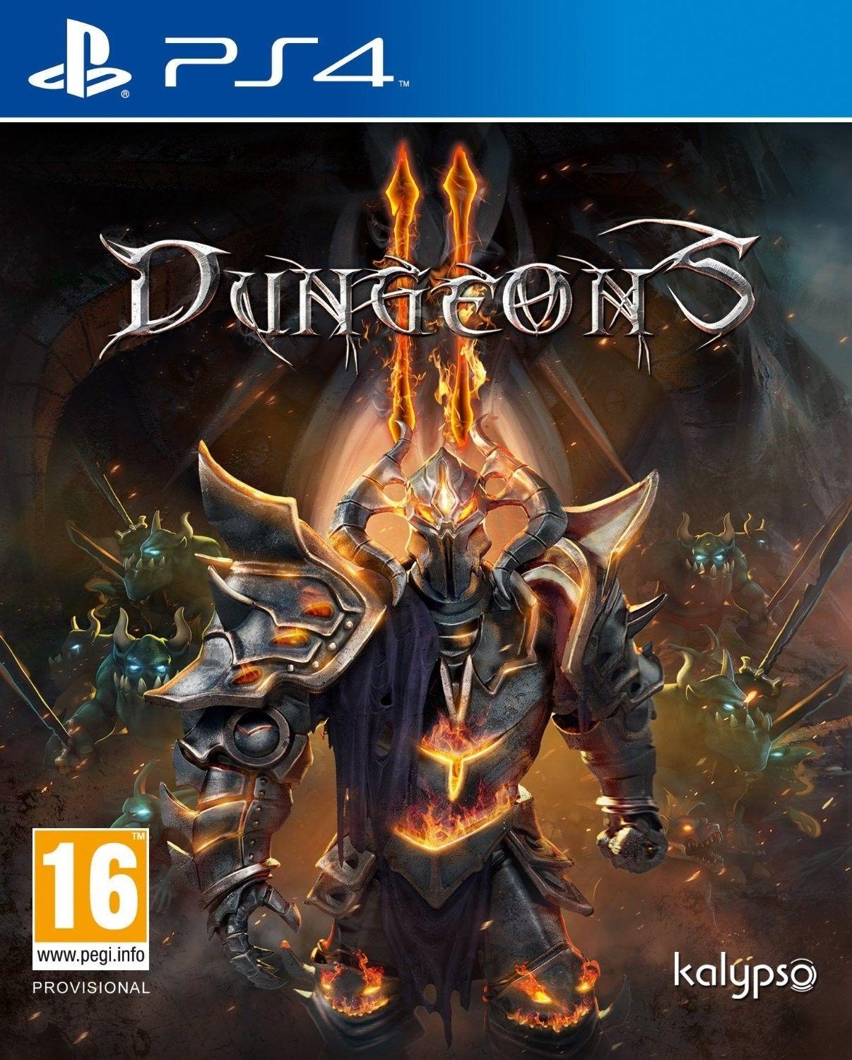 Dungeons 2 PS4 Barand New Sealed PAL Europe