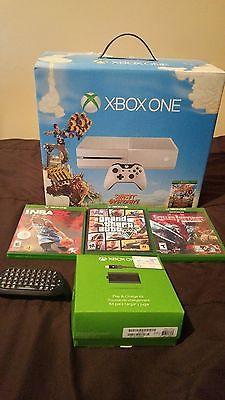 Xbox One White Console Sunset Overdrive Bundle (500GB) With GTA V & ACCESSORIES