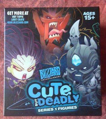 Loot Crate Blizzard Series 1 Cute But Deadly figure unopened and fridge magnets