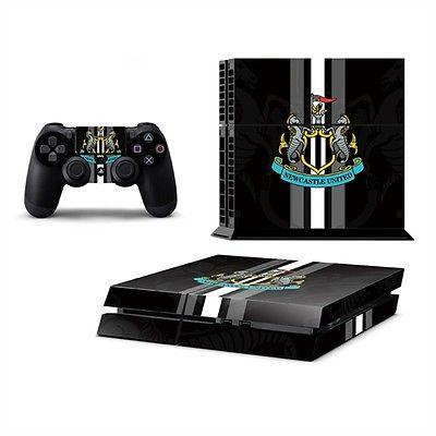 PS4 Newcastle United Skin Sticker Wrap Console And 2 Conrollers(UK SELLER)