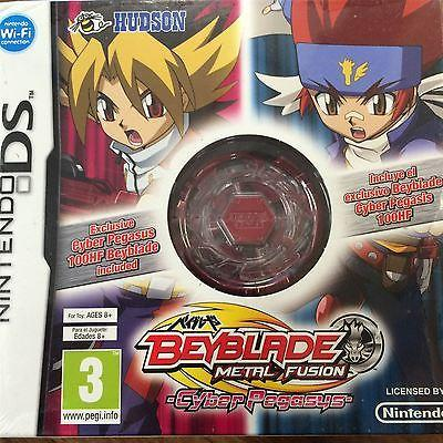 Beyblade Metal Fusion Cyber Pegasus Collectors Edition Nintendo DS New & Sealed