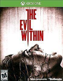 XBOX ONE EVIL WITHIN - BRAND NEW - FREE 1ST CLASS SHIPPING WITH TRACKING!