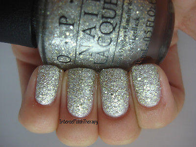 NEW! OPI Nail Polish Lacquer in SUPER STAR STATUS ~ Silver Gold ...