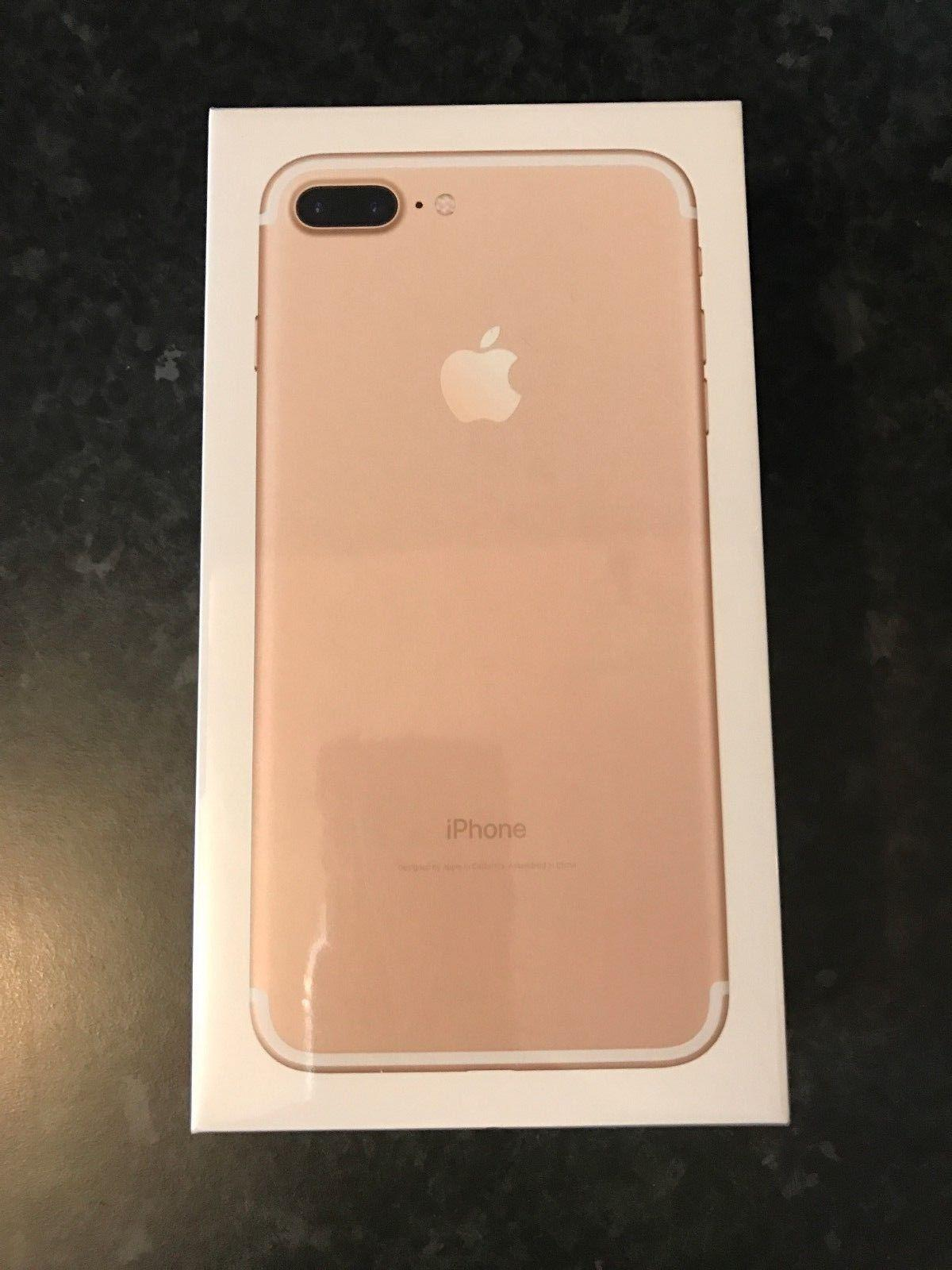 Apple Iphone 7 Plus Latest Model 32gb Gold Vodafone New 256gb Inter