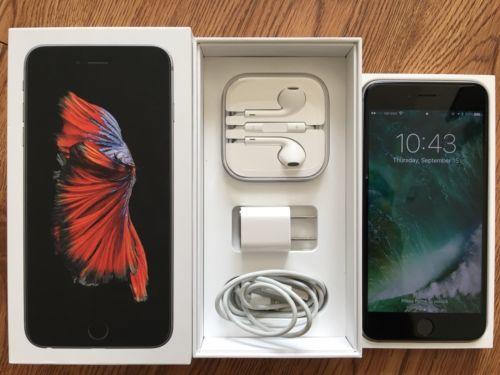 Apple iPhone 6s Plus 64GB Unlocked - Space Gray - With AppleCare!