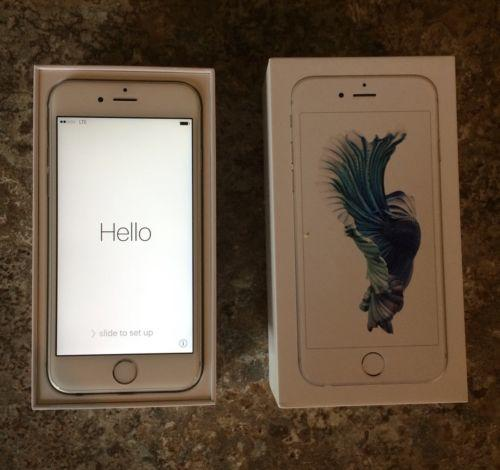 Apple iPhone 6S (Latest Model) - 64GB - Silver (AT&T) Smartphone
