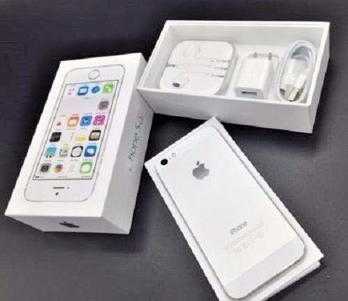 New In Box Apple iPhone 5s 16 GB Silver Factory Unlocked for ATT T-Mobile 1256e67694