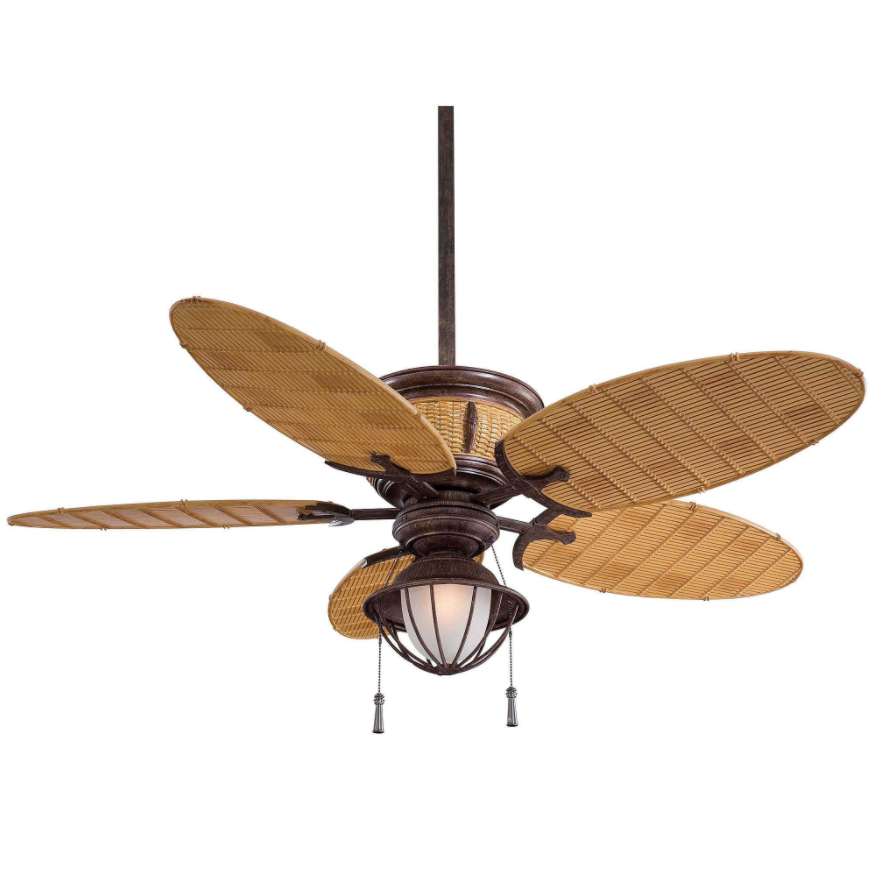 Wet Rated Ceiling Fan Nautical Light
