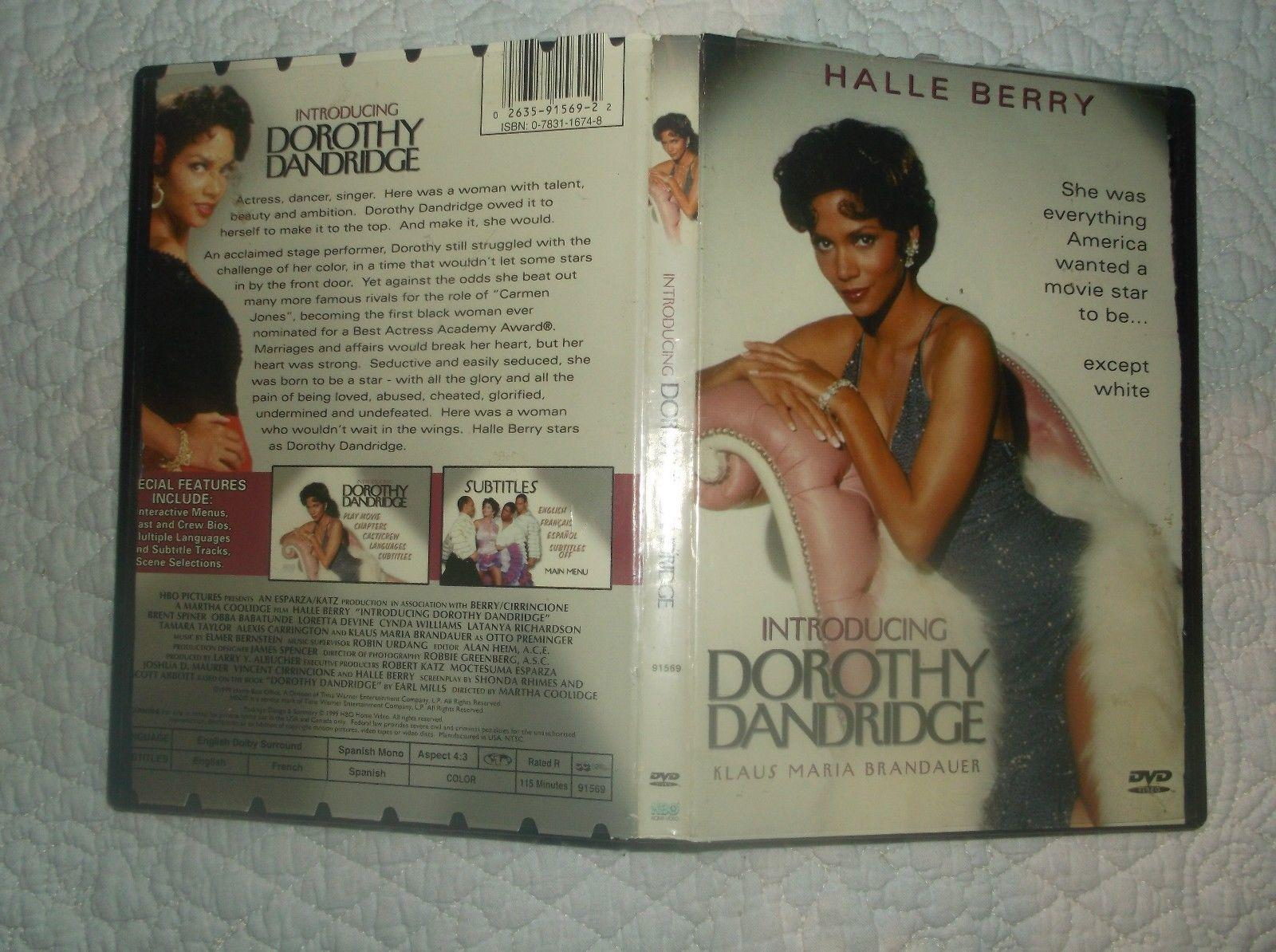 Introducing Dorothy Dandridge, DVD, Halle Berry, Brent Spiner, Loretta Devine