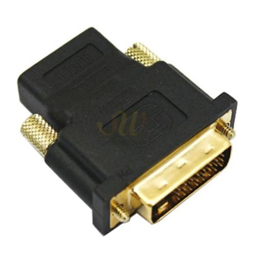 Durable High Quality DVI Male to HDMI Female M-F Adapter Converter For HDTV CA