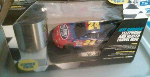JEFF GORDON NASCAR TELEPHONE & MUG SET IN THE BOX!