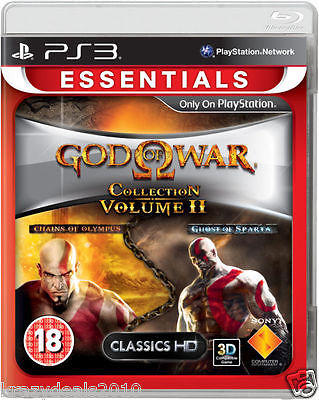 God Of War Collection Volume / Part 2 II (Sony Ps3 Playstation 3 Essentials) New
