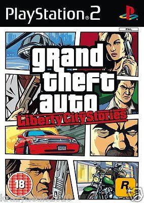 GTA Grand Theft Auto Liberty City Stories (Sony Ps2 Playstation 2) PAL Games New