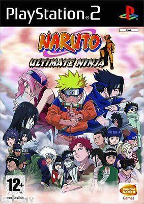 Naruto Ultimate Ninja (Original Sony PlayStation 2 PS2 Games PAL) New Sealed