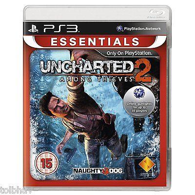 Uncharted 2 II Among Thieves (PlayStation 3 PS3 Games)