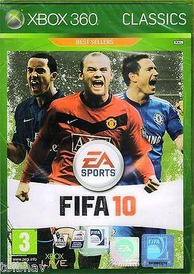 FIFA Football Soccer 10 2010 2K10 (Xbox 360 Live Games PAL) Best Sellers Classic
