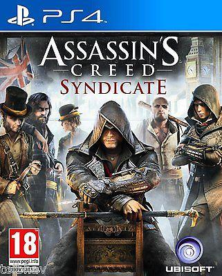 Assassin's Creed: Syndicate (Sony PlayStation 4 PS4 Games) New