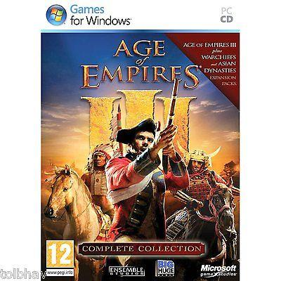Microsoft Age of Empires III 3 Complete Collection (Original PC Games)