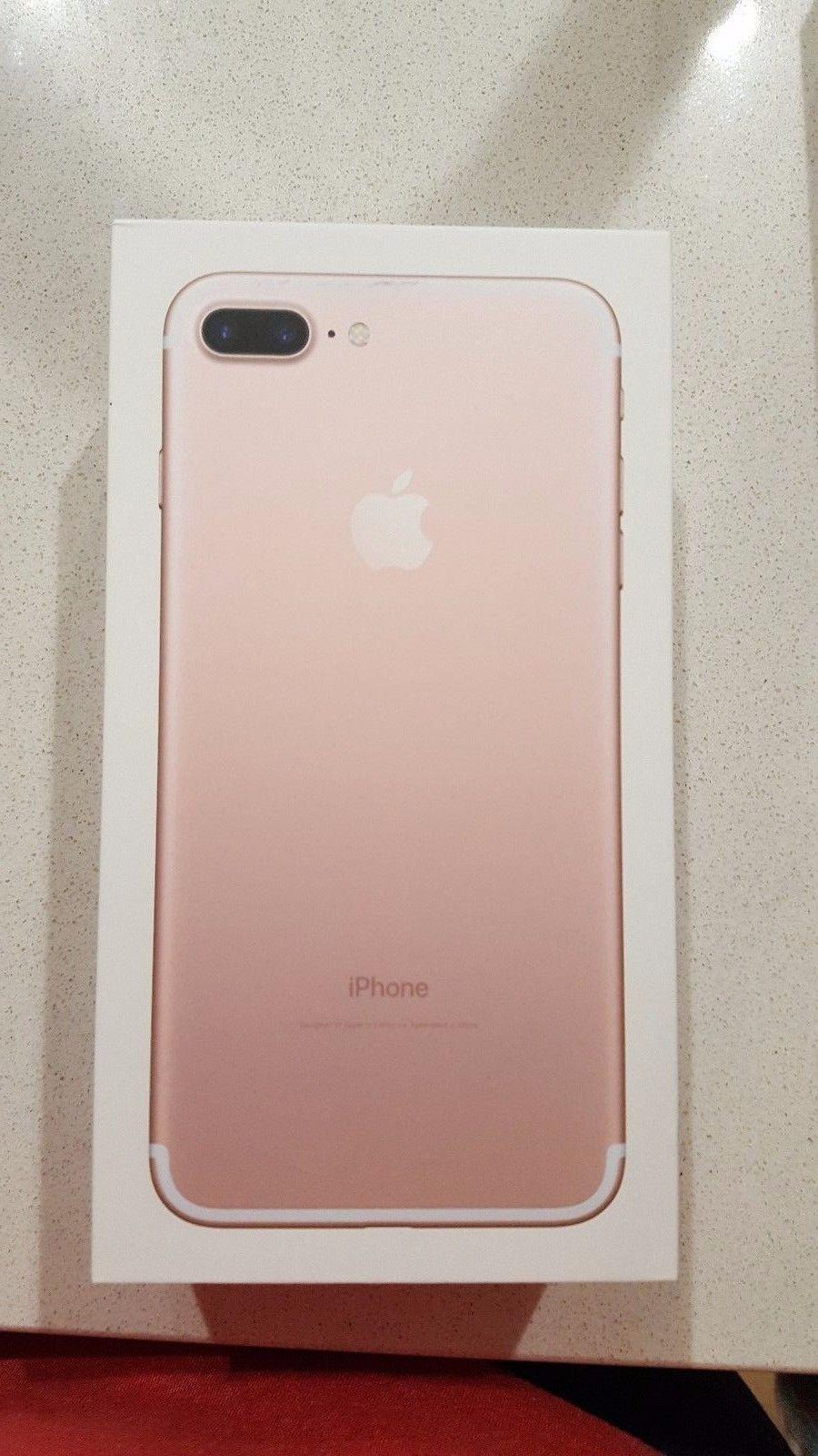 iphone 7 plus rose gold. iphone 7 plus - 32gb rose gold (at\u0026t) in hand ready to ship iphone