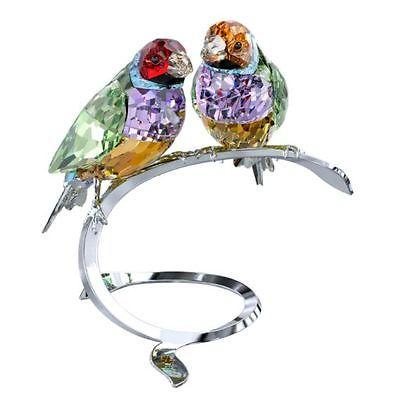 Swarovski Crystal Creation 1141675 Gouldian Finches RRP $899
