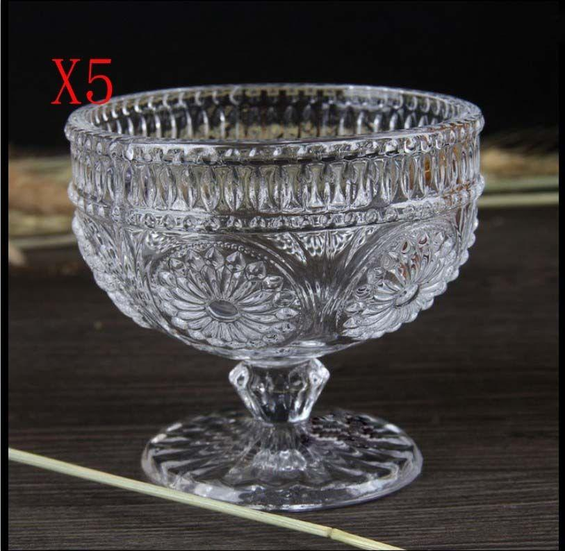New 5X Capacity 200ML Height 95MM Transparent Whisky Wine Glass/Glassware %
