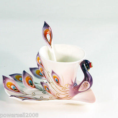 New Continental Fashion Classic 3 p Porcelain Coffee cup set