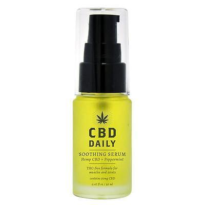 CBD Hemp Daily soothing serum Essential Oil Muscle Joint Pain Relief