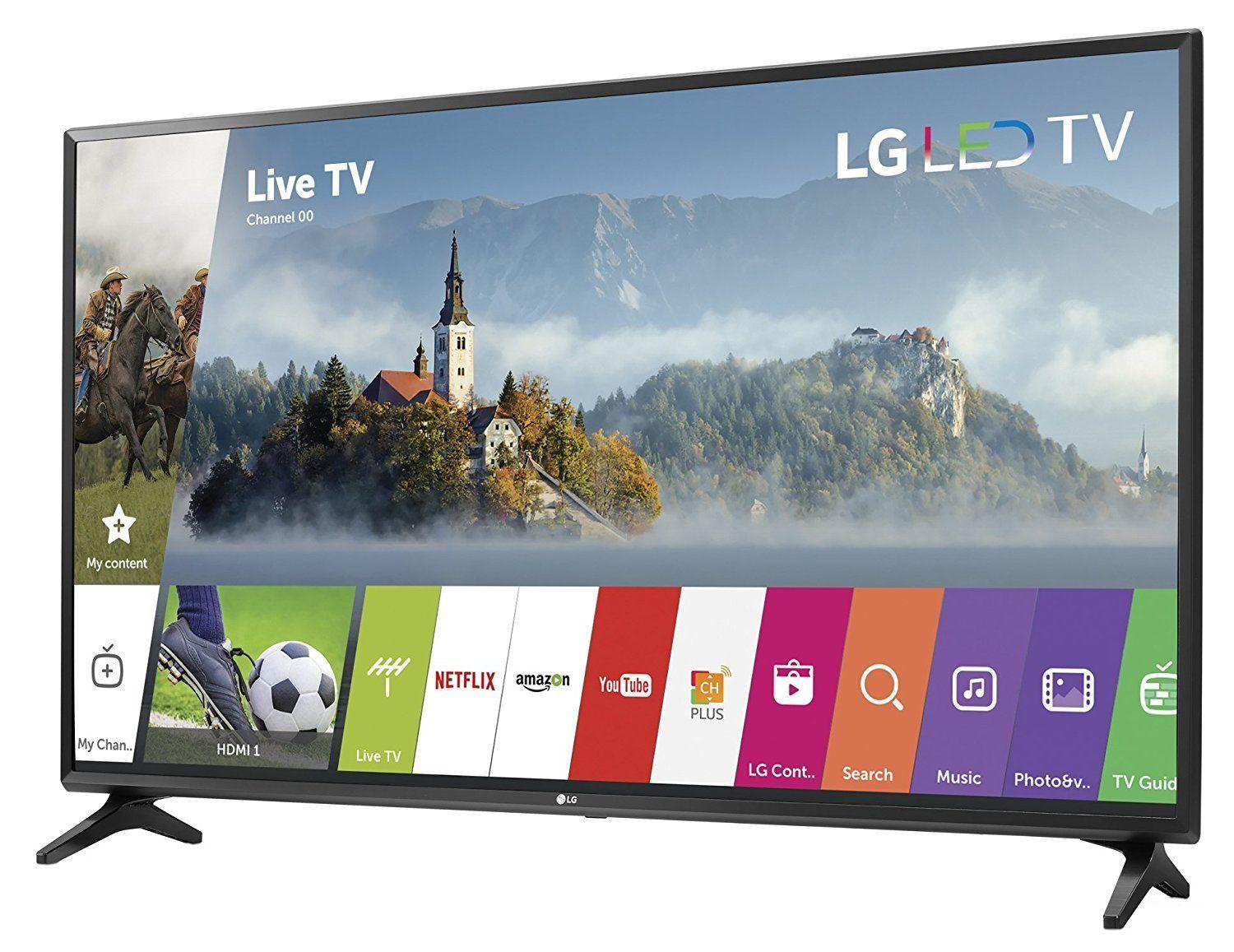 New LG 43 Inch Full HD 1080p Smart LED TV HDTV webOS 3.5 2x HDMI USB 43LJ5500