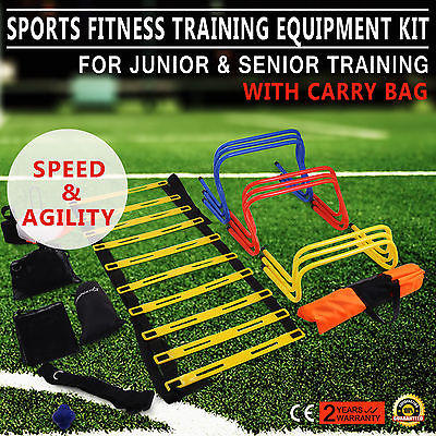 Multi Sports Fitness Training Equipment Kit Set Football Soccer Junior & Senior