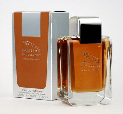 JAGUAR EXCELLENCE INTENSE by JAGUAR Mens Eau de Parfum Spray ~ 3.4 oz / 100 ml