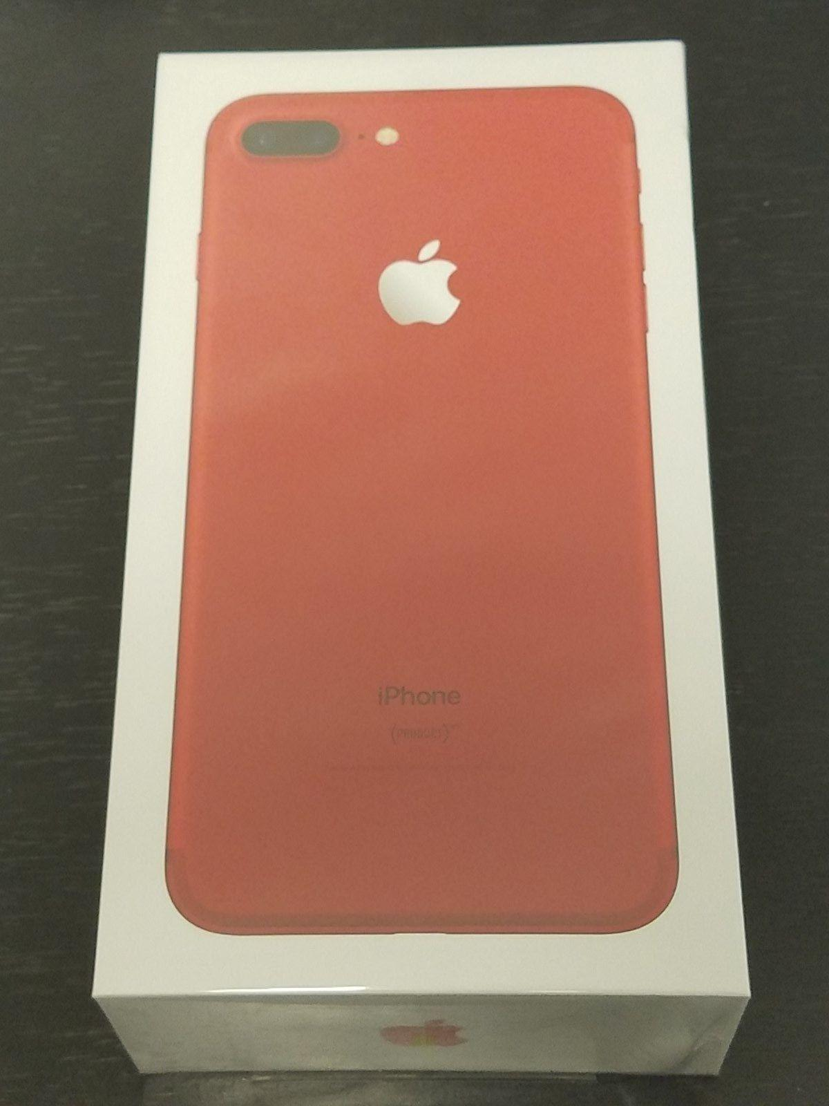 iPHONE 7 PLUS 128GB RED VERIZON/FACTORY UNLOCKED BRAND NEW SEALED!!