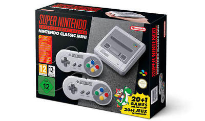 SUPER NINTENDO SNES CLASSIC MINI BNIB 250 EXTRA GAMES INSTALLED L@@k!!
