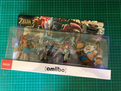 Zelda Breath of the Wild Champions Amiibo - Single Amiibo Sale