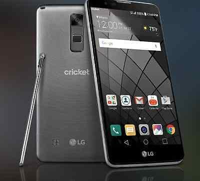 "NEW UNLOCKED LG G STYLO 2 GLOBAL 4G LTE Phone 5.7"" AT&T Cricket 2017 Model w/BOX"